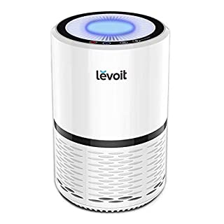 LEVOIT Air Purifier for Home with True HEPA Filter for Allergies and Pets, Dust, Mold, and Pollen, Smoke and Odor Eliminator