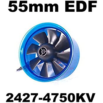 Mystery EDF Plus HL5508 2427-4750KV Brushless Motor 55mm EDF Ducted Fan Power System