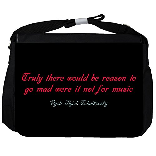 Truly there would - Pyotr Ilyich Tchaikovsky Unisex Umhängetasche