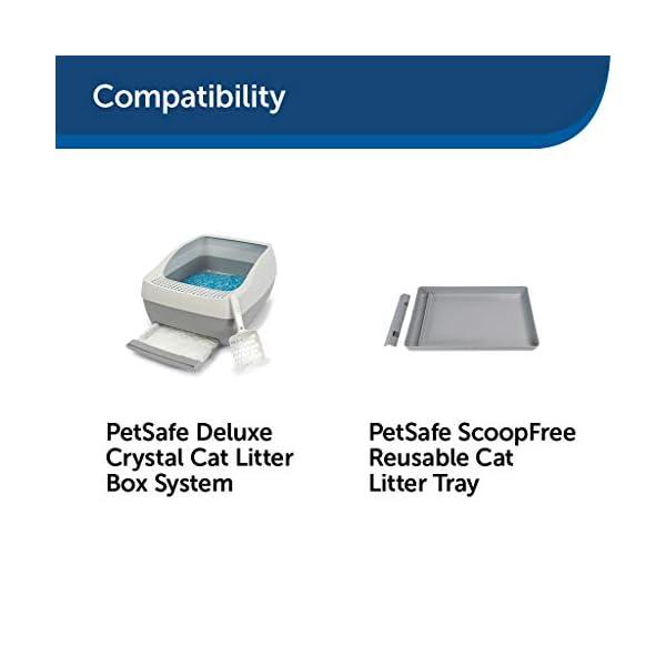 PetSafe ScoopFree Premium Crystal Non Clumping Cat Litter, 2-Pack 6
