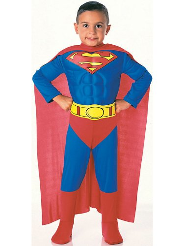 superman+costumes Products : Super DC Heroes Deluxe Muscle Chest Superman Costume