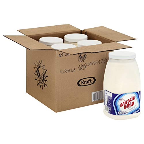 Kraft Original Miracle Whip Dressing, 1 Gallon -- 4 per case.