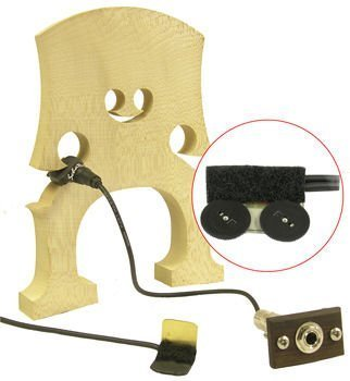 (Schatten RB-2 Rockabilly Upright Bass Dual Pickup System w/Jack and Dual Volume Controls)