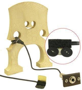 Upright Bass Pickup System - Schatten RB-2 Rockabilly Upright Bass Dual Pickup System w/Jack and Dual Volume Controls