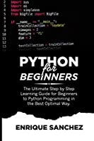PYTHON FOR BEGINNERS Front Cover
