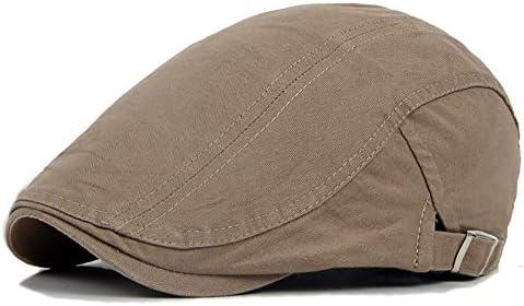 MXLTIANDAO キャスケット メンズ ハット ゴルフ 綿 調整可能 ソフト クラシック ハンチング 57-62cm 帽子