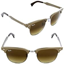 Ray-Ban RB3507 Clubmaster Aluminum Sunglasses