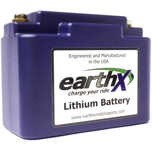 EarthX ETX18B Power Sports Lithium Battery with cell charge balancing, over charge and over discharge protection! Replaces Yuasa YT12B-BS, YT14B-BS, YB16AL-A2, YTX14AHL-BS by EarthX