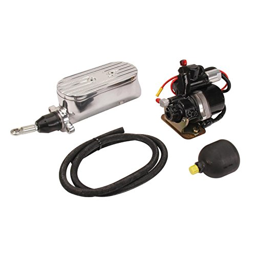 (Compact Electric Brake Power Booster Master Cylinder, Disc/Disc)