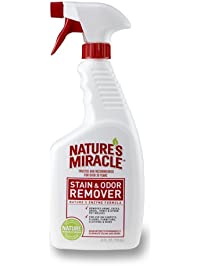 Nature's Miracle Stain and Odor Remover Dog Odor Control Formula, Spray, Enzymatic Formula for Urine, Feces, Vomit, Drool...