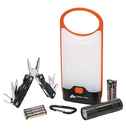 4-Piece Lighting and Tool Combo with Batteries
