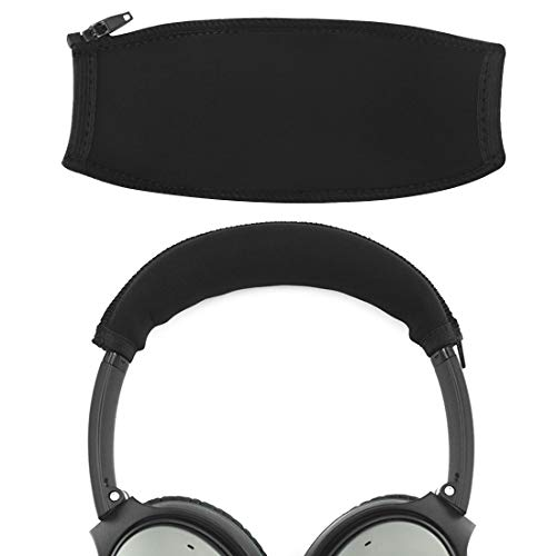 Headband Pad - Geekria Headband Cover Replacement for Bose QuietComfort QC35, QC25 Headphones/Headband Protector/Replacement Headband Cushion Pad Repair Parts/Easy DIY Installation No Tool Needed