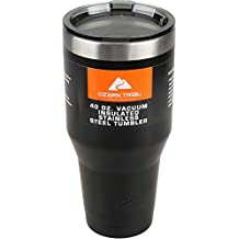 Ozark Trail 40 oz Vacuum Insulated Stainless Steel Tumbler Powder Coating