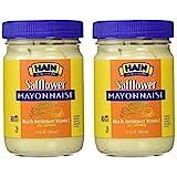 Hain Regular Safflower Mayonnaise, 12 ounces (Pack of 2)