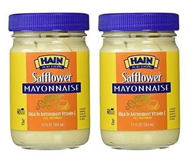 Price comparison product image Hain Regular Safflower Mayonnaise,  12 ounces (Pack of 2)