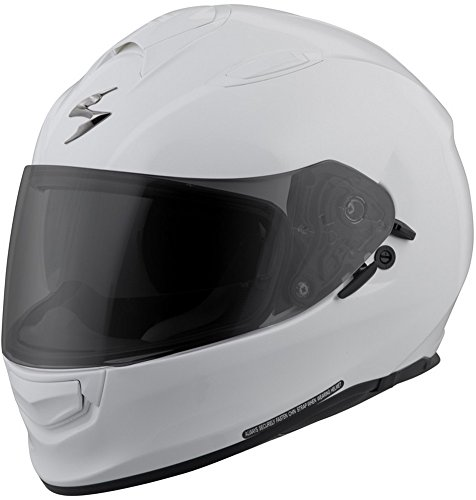 - ScorpionExo Unisex-Adult full-face-helmet-style EXO-T510 Helmet (500 Series) (White,Large), 1 Pack
