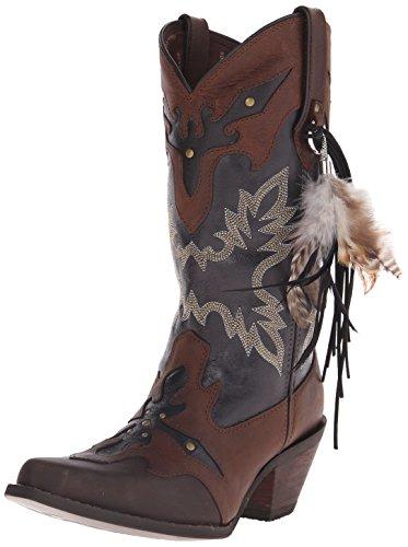 """Durango Women's Crush 12"""" Underlay Western Boot - Brown/B..."""