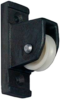 product image for Eder Flag Pulley for Vertical Wall Mount Black Finish