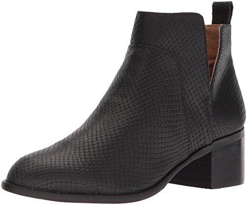 Franco Sarto Women's RICHLAND2 Ankle Boot, Black/Black, 9 Medium US