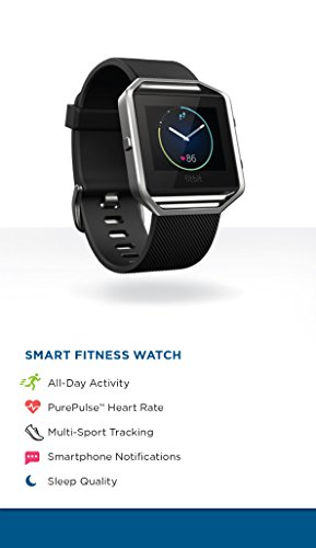 Fitbit Blaze Smart Fitness Watch, Black, Silver, Small (US Version) by Fitbit (Image #7)