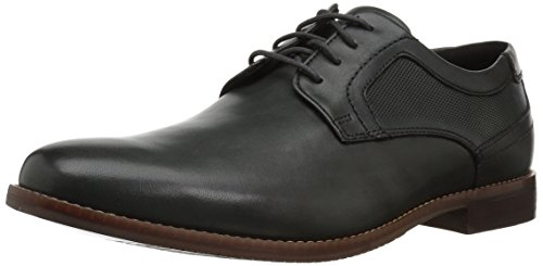 Rockport Mens Style Purpose Perfed Plain Toe Oxford  Dark Shadow  12 M Us
