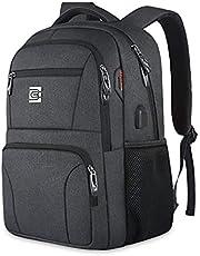 FANDARE Laptop Backpack Business Travel Slim Laptops Backpack with USB Unisex College School Computer Bag Bookbag