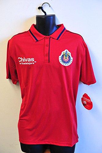 Chivas de Guadalajara Team Logo Polo Shirt - 006 (Small)