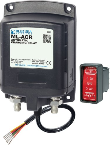 Blue Sea Systems Ml Acr 12V Dc 500A Automatic Charging Relay