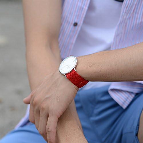 MORELLATO[モレラート] ナイロン 時計ベルト PERLON パーロン 18mm ダークブラウン 交換用工具付き [正規輸入品] U0054150032018M