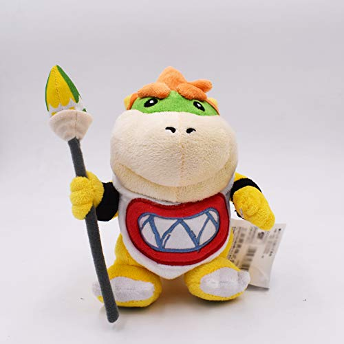 LAJKS 10Pcs/Lot 17Cm New Rio Bowser Koopa Jr Soft Stuffed Plush Doll Toy for Children Must Haves for Kids Unique Gifts Girls Favourite Characters Superhero Toys UNbox Toys by LAJKS