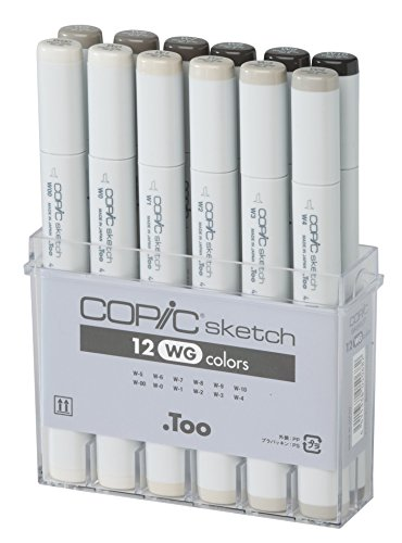 10 best copic markers warm gray
