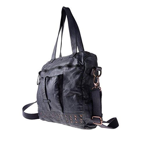Dudu - Sac porté épaule - Timeless - Bag - Noir Slate - Femme