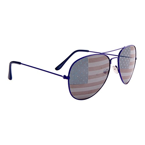 American Flag Aviators , Blue, sunglasses, america, patriotic, flag, white, 4th of July, Memorial Day, Election Day, - Sunglasses Wholesale Flag American Aviator