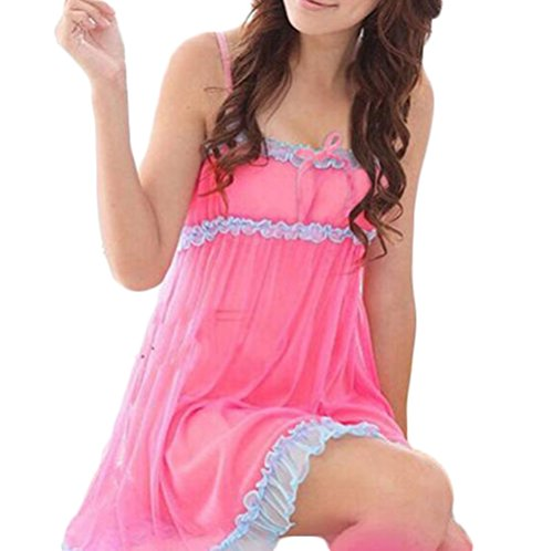 Lace Baby Doll Nightie - 2