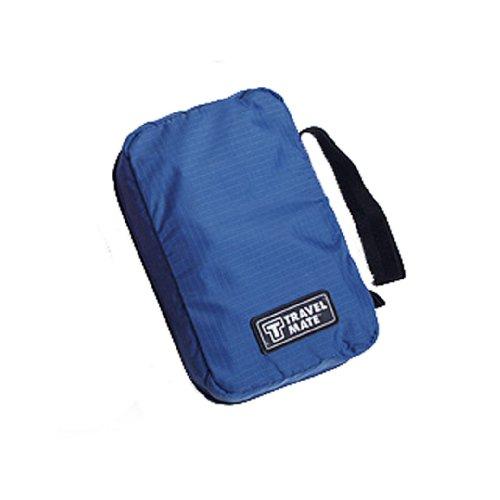 Tangda neue kosmetische Tasche für Reisenden Speicher Kulturbeutel Kulturtasche Reisentasche mit Haken Wasserdicht - Blau