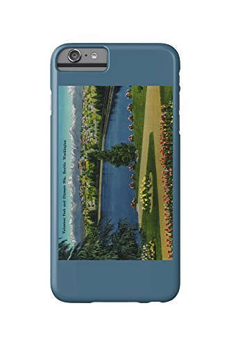 Volunteer Park and Olympic Mountains, Seattle (iPhone 6 Plus Cell Phone Case, Slim Barely There)