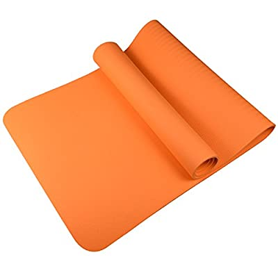 """Yoga Mat,Exercise Mats,Womens Yoga Mat with Carrying Strap,1/4 Inch( 71"""" x 24"""") Textured Non-Slip Surface ,Non-Toxic Material for Yoga,Workout,Sports and Exercise."""