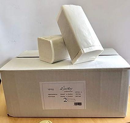 Toallas de papel de 2 capas celulosa Blanco – ZZ veces 3750 hojas/VPE