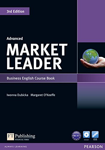 Market Leader 5 Advanced Coursebook with Self-Study CD-ROM and Audio CD (3rd Edition) by Brand: Prentice Hall College Division
