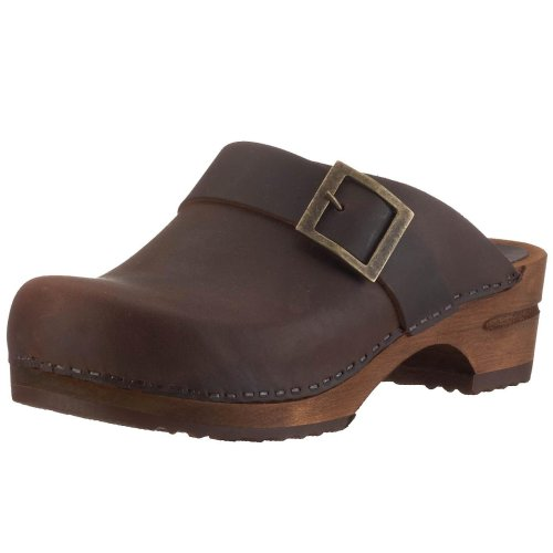 Sanita Urban open, Damen Clogs, Braun (antique brown 78), 42 EU