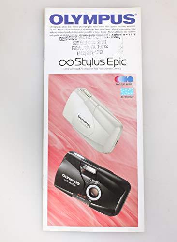 Olympus Infinity Stylus Epic Camera INFORMATIONAL BROCHURE