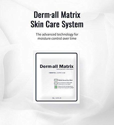 Derm all Matrix Daily Facial Dermal-care 35g sheet 4ea pack