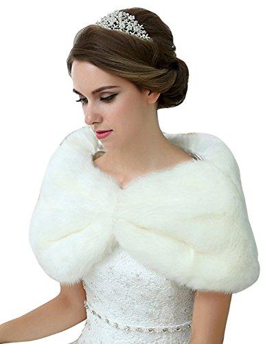 Buy ivory cape dress - 8