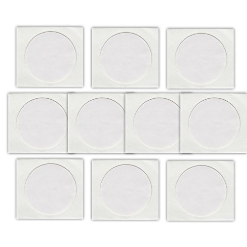 10 NFC Tags Sticker NTAG216 | 888 Byte | 25mm | weiss