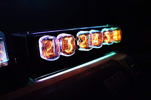 NIXT CLOCK - IN12 Nixie Clock Temp Remote Alarm Power 100% Assembled