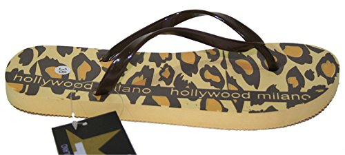 HOLLYWOOD MILANO , Tongs pour femme beige beige 38