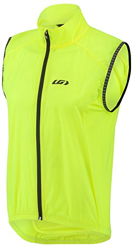 Cycling Wind Vest (Louis Garneau Nova 2 Bike Vest, Bright Yellow, Small)
