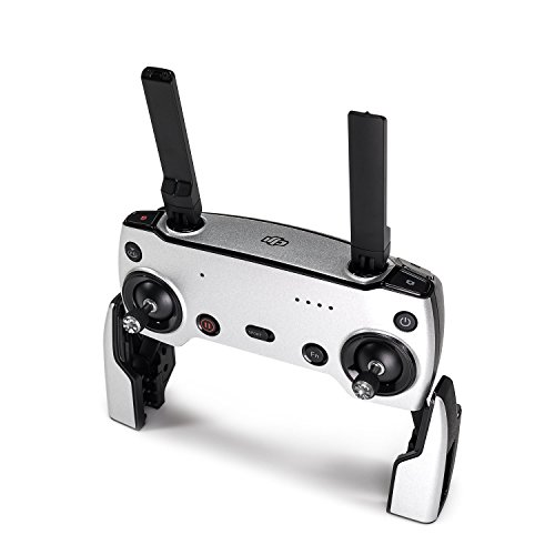 Wrapgrade Poly Skin for DJI Mavic Air | Remote Controller (Airforce Silver)