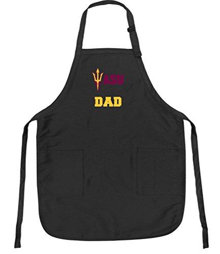 - Broad Bay ASU Dad Aprons Arizona State Dad w/Pockets Grilling Gift Him Men