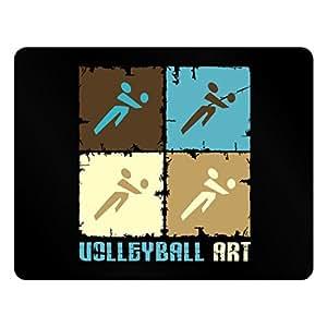 Teeburon Volleyball Art Plastic Acrylic